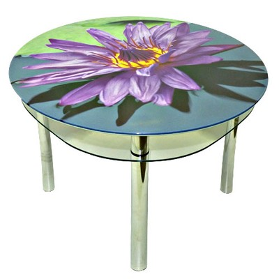 круглый стол лилия