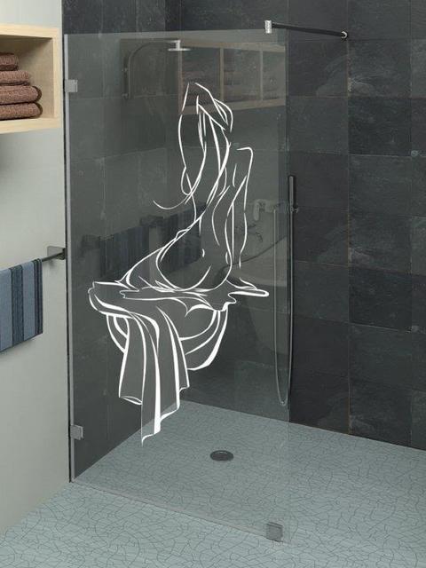 Стекло прозрачное в душ