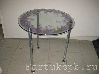 Круглый стол с фотопечатью