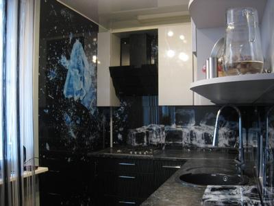 Кухонные фартуки примеры работ