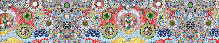 Кухонный фартук mozaika