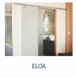 Раздвижные стеклянные двери Eloa