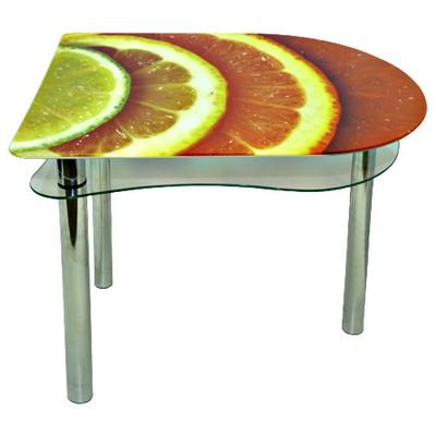 стеклянный стол лайм